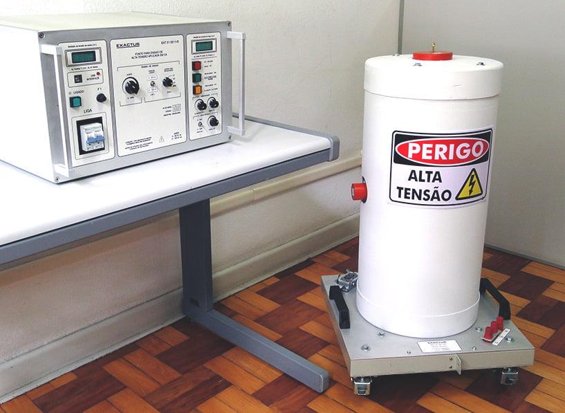 EAT-CIL 10-100-11-BR  -  Conjunto para ensaio de AT aplicada em ca 100kV-100mA Manual  - HIPOT
